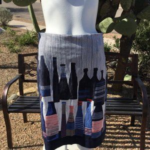 Nic +Zoe Pencil Skirt with Bottles